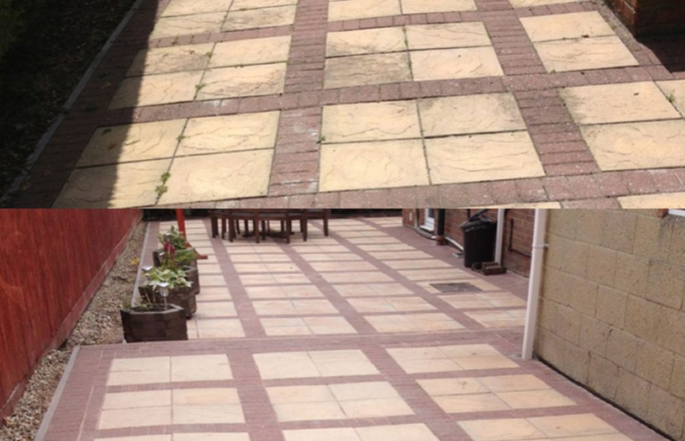 Block paving cleaning Swindon