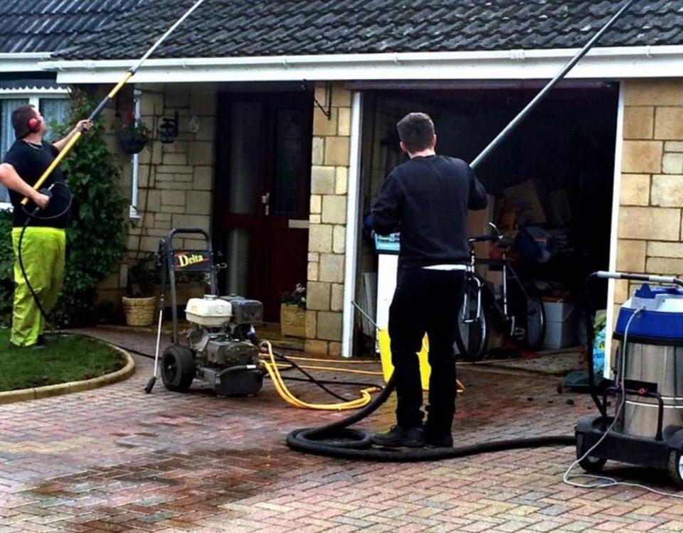 Professional window cleaning Swindon