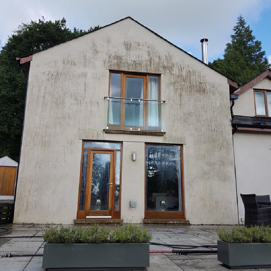 house render cleaning before