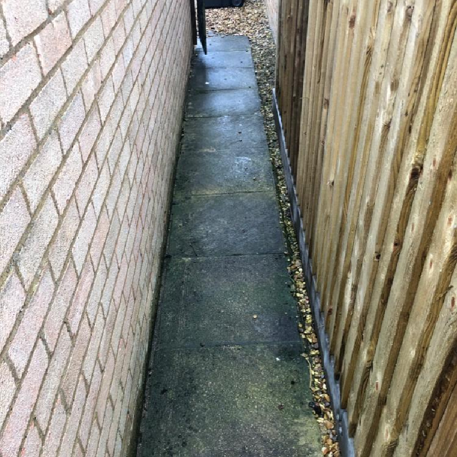 path cleaning after